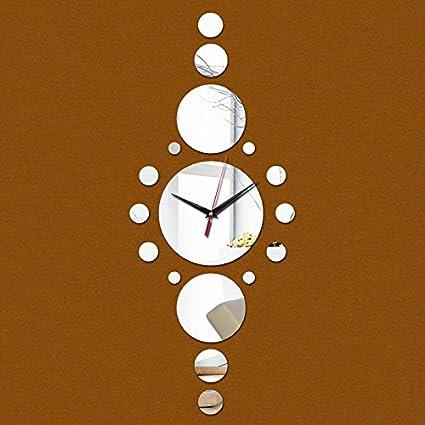 Clocks cc clock watch home decoration new clocks reloj pared acrylic living room quartz modern Mirror