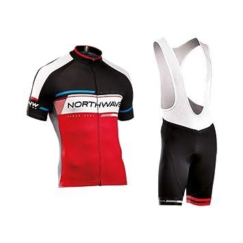 Hombres Ciclismo Jersey Trajes Camisa rápida Dry ...