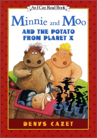Read Online Minnie and Moo and the Potato from Planet X (I Can Read Book 3) PDF