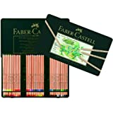 Faber-Castel FC112160 PITT Pastel Pencils In A Metal Tin (60 Pack), Assorted