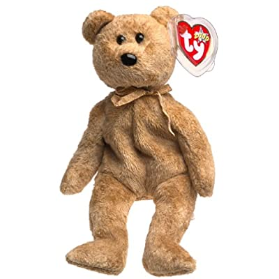 Ty Beanie Babies - Cashew the Bear: Toys & Games