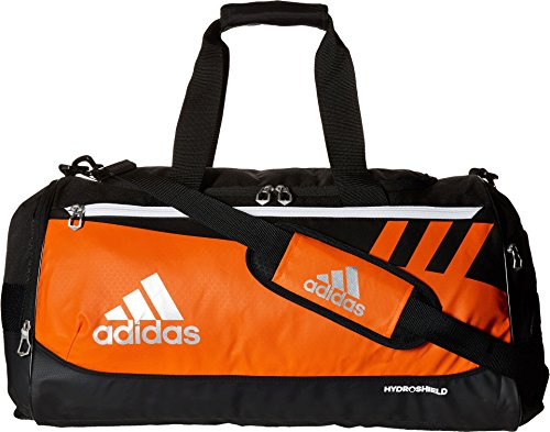 adidas Team Issue Duffel Bag, Orange, Medium for $<!--$39.99-->