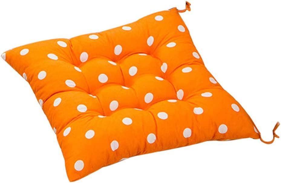 Muranba 2019 ! Durable Polka Dot Chair Cushion Garden Dining Home Office Seat Soft Pad 8 Colors (F)