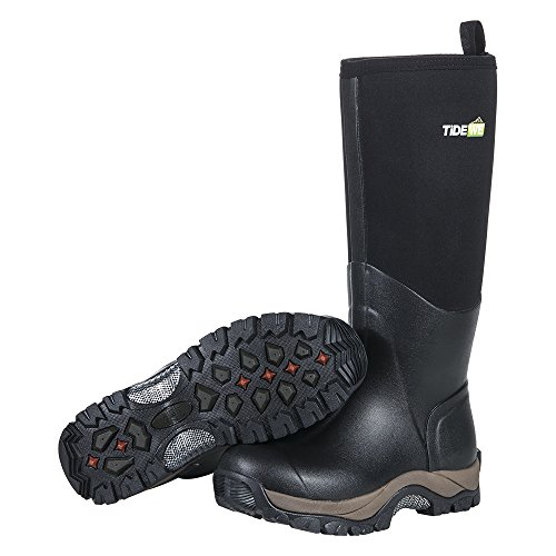 TideWe Muck Boots Men And Woman, Waterproof Durable Insulated Neoprene Muck Boot, Rain Boot Arctic Outdoor Sport Boot M11 by TideWe