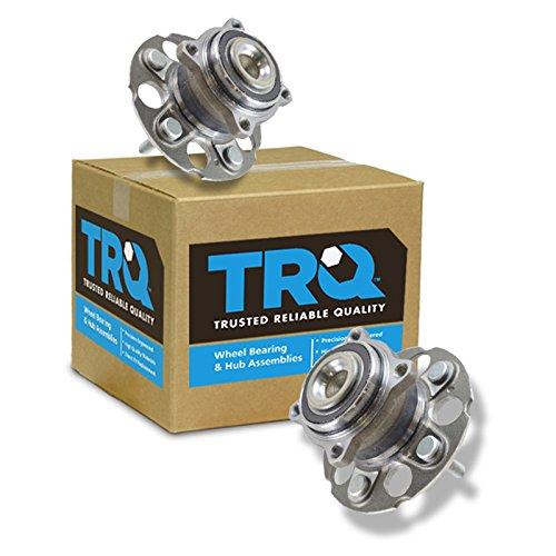 TRQ Rear Wheel Hub & Bearing Left & Right Pair Set for Honda CR-V Crosstour 2WD
