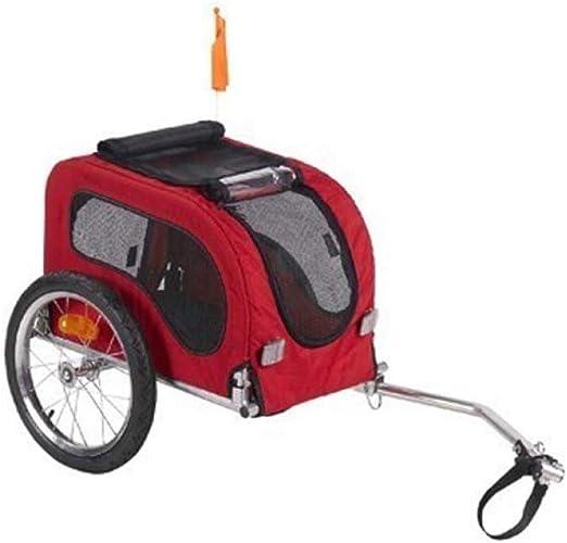 ZXDFG Remolque para Mascotas Remolque Plegable para Bicicleta para ...