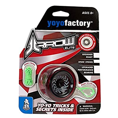 YoYoFactory Arrow Elite RED: Toys & Games