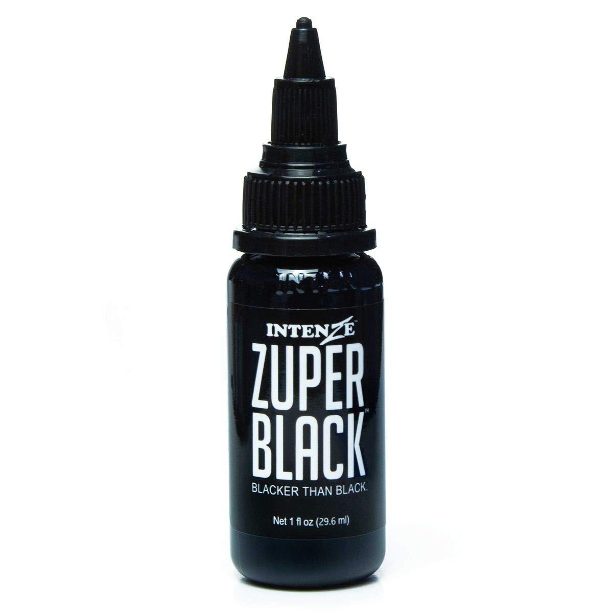 INTENZE Products Zuper Black - 1 oz.
