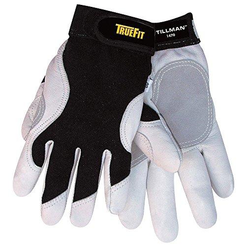 Tillman Medium Black And White TrueFit Full Finger