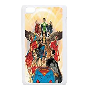 iPod Touch 4 Case White Justice League of America 3 Wiiox