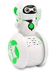Carsge Mini Tumbler Robot Cartoon Multifunción Inducción Inteligente Música Robot Toy Robots