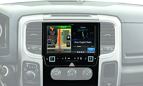 Alpine Electronics X009-RAM 9'' Restyle Dash System for Select Ram 1500, 2500 & 3500 Trucks by Alpine (Image #4)