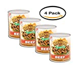 PACK OF 4 - Keystone Beef, 28 oz