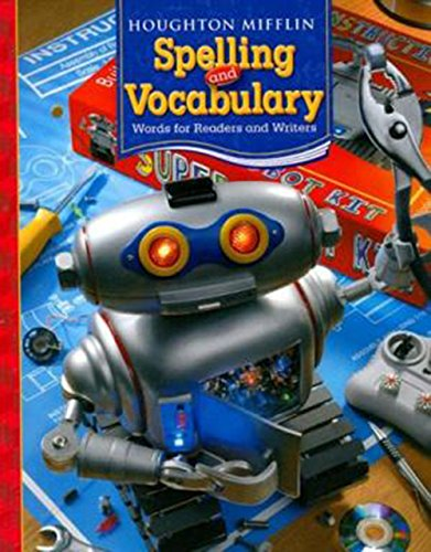 Houghton Mifflin Spelling and Vocabulary: Student Edition (Softcover) Level 6 2006