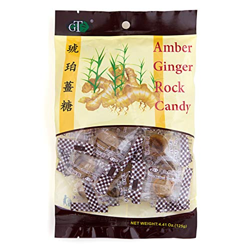 Amber Rock Ginger Candy 4.4oz]()