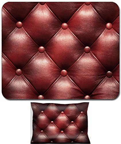 Liili Mouse Wrist Rest and Small Mousepad Set, 2pc Wrist Support Leather upholstery of a magnificent sofa Photo (Upholstery Sofas Sofa Sets)