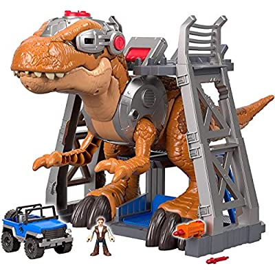 Fisher-Price Imaginext Jurassic World Jurassic Rex: Toys & Games