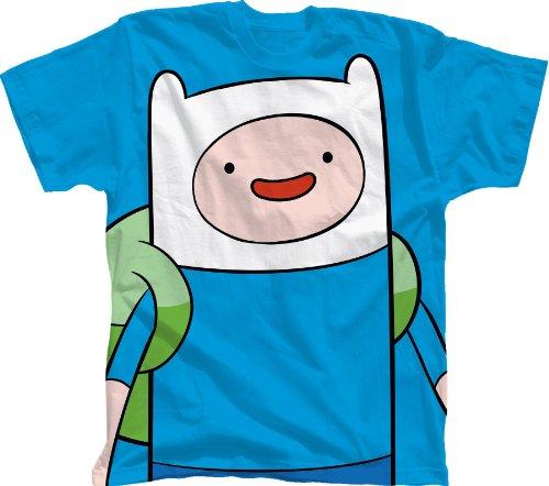 Bioworld 6-14 Adventure Time With Finn T-Shirt BLUE Small 8
