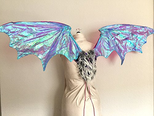 Iridescent Articulating Costume Dragon Wings by StudioACM
