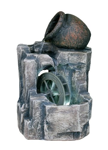Ore International FT-1165/1L Table Fountain, 11-Inch