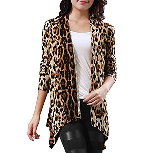 Leopard Print Cardigan: Amazon.com