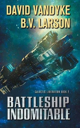 book cover of Battleship Indomitable