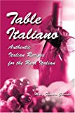 Table Italiano, Mary Garrido, 0595282326