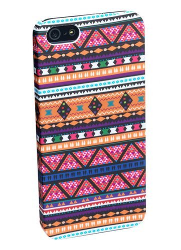 PEDEA Tribal Hülle für Apple iPhone 5S/5 rosa