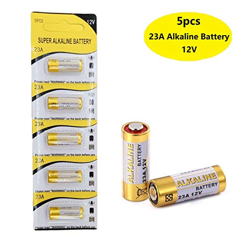 Loopacell A23 23A 12-Volt Alkaline Battery Pack of 10