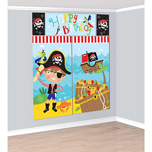 Amscan Little Pirate Scene Setter