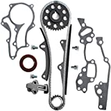 CNS TK10120 HD Timing Chain Kit (2 Heavy Duty Metal Guide Rails & Bolts) / 85-95 Toyota 2.4L 4Runner Pickup Celica 4-Cylinder SOHC 8-Valve Engine 22R 22RE 22REC 22RTEC