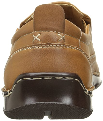IZOD Men's Forman Boat Shoe, Dark Tan, 9.5 M US
