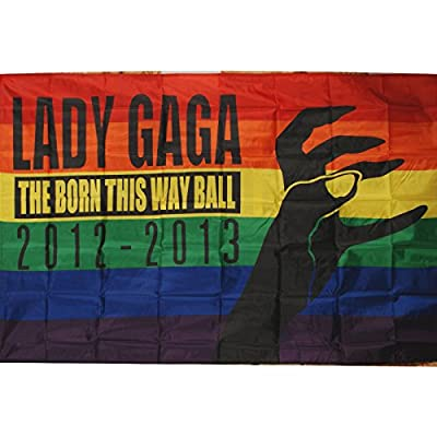 Lady Gaga - Poster Flag