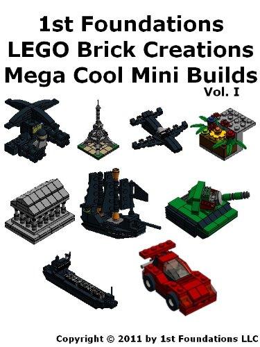 Amazon 1st Foundations Lego Brick Creations Nine Instructions