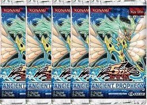 Yu-Gi-Oh Cards 5D's - Ancient Prophecy - Booster Packs ( 5 Pack Lot ) by Yu-Gi-Oh! ()