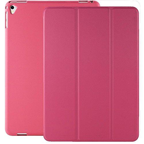 Super Slim Smart Cover Case for Apple iPad Pro 9.7 (Pink) - 1