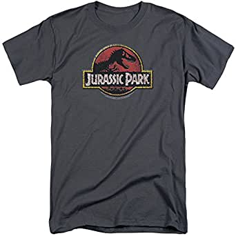 jurassic park stone logo mens big and tall