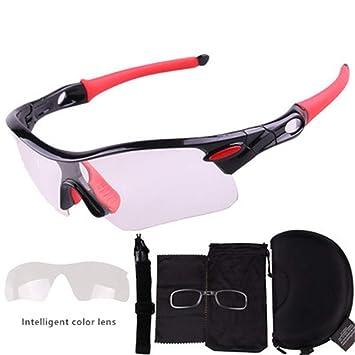 Gafas De Sol FotocromáTicas Ciclismo Motocicleta, Gafas De ...