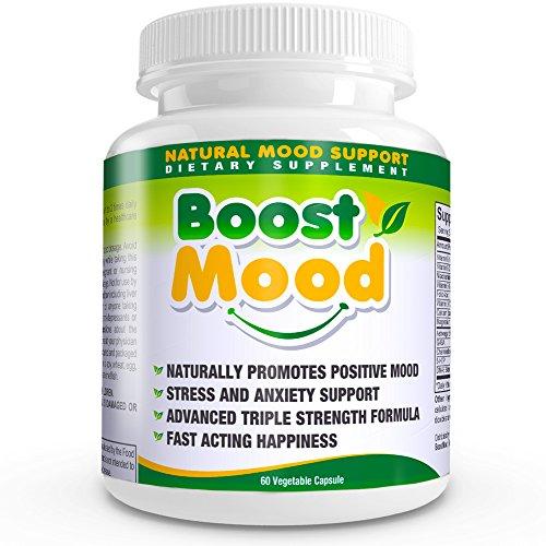 Améliorer l'humeur All-naturelle sérotonine Booster (60ct) Smart Choice Force maximale soutien naturel des symptômes de l'anxiété, le stress, la dépression et les attaques de panique. (Vegetarian Capsules avec 5-HTP, Ashwagandha (extrait 7%), DMAE bitartr