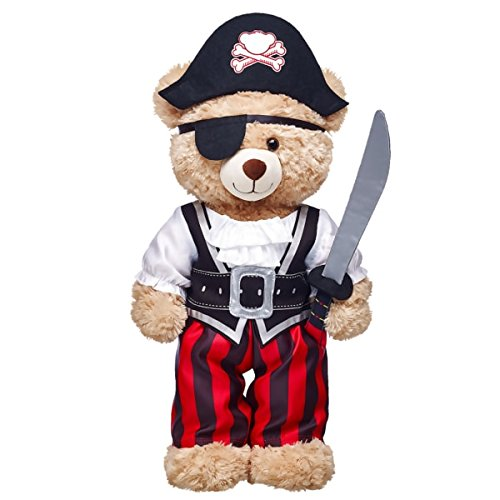 Build-a-Bear Workshop Pirate Costume 5 pc.