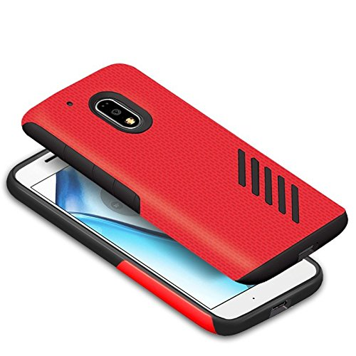Orzly Grip-Pro Case for Moto G4 & G4 Plus Smartphone (2016 Lenovo/Motorola Model) - Durable & Light-Weight Twin Layer Case for Added Grip & Protection ...