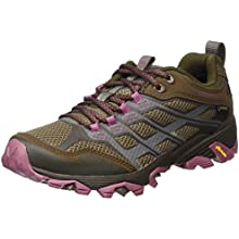 merrell moab fst gore-tex womens walking shoes - aw16 case