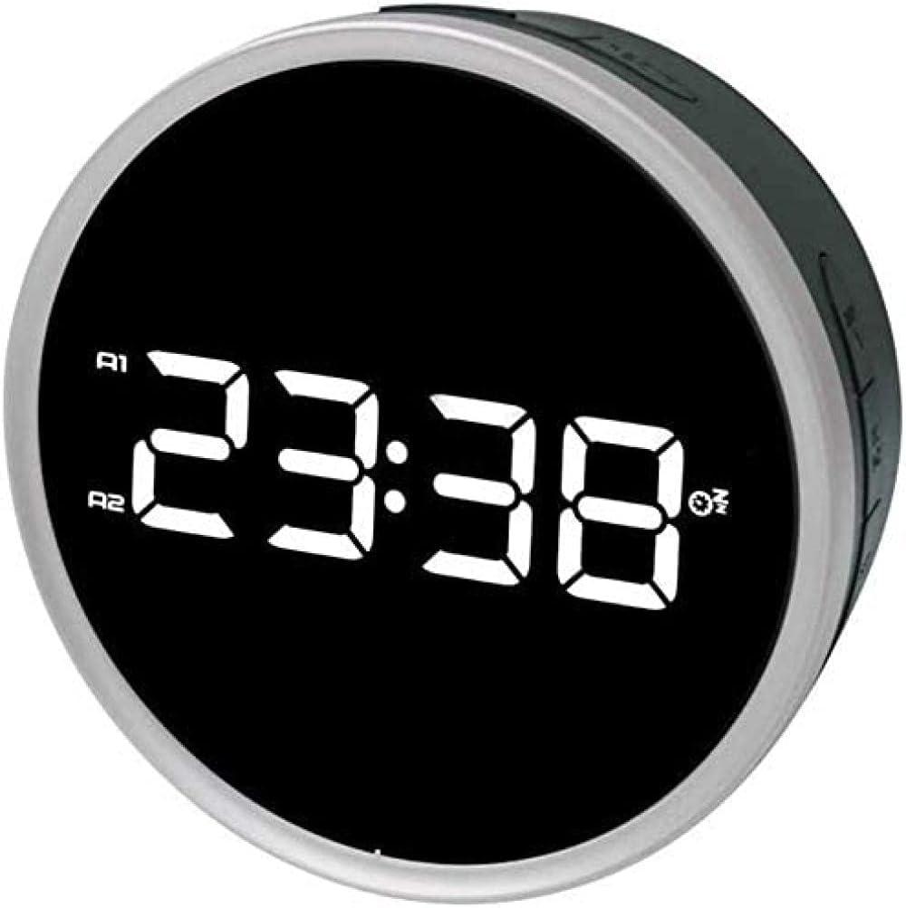 Reloj Snooze Radio Despertador Reloj despertador Temporización Led Digital Display Reloj