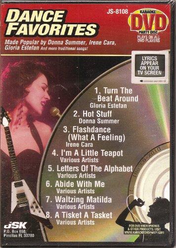 Karaoke DVD Party Disc--Dance Favorites ()