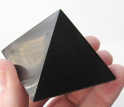 Heka Naturals - Shungite Pyramid Polished Karelia Elite