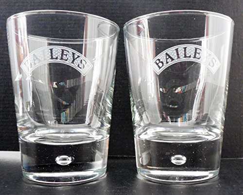 Bailey Bubble - Bailey's Irish Cream Bubble In Base Rocks Glasses Set Of 2