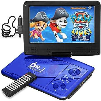 "DR. J 11.5"" Portable DVD Player 2021"