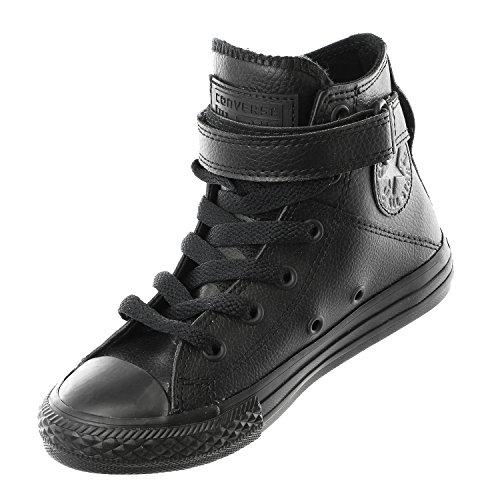 Chaussure enfant Converse Chuck Taylor cuir - noir, 29