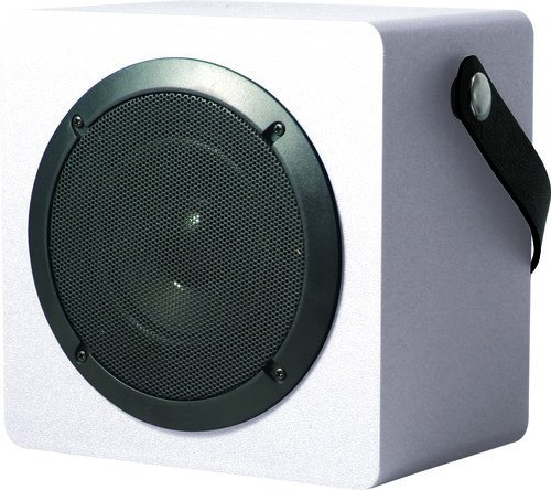 - Coby CSBT-317-WHT Tune Box Portable Bluetooth Speaker, White