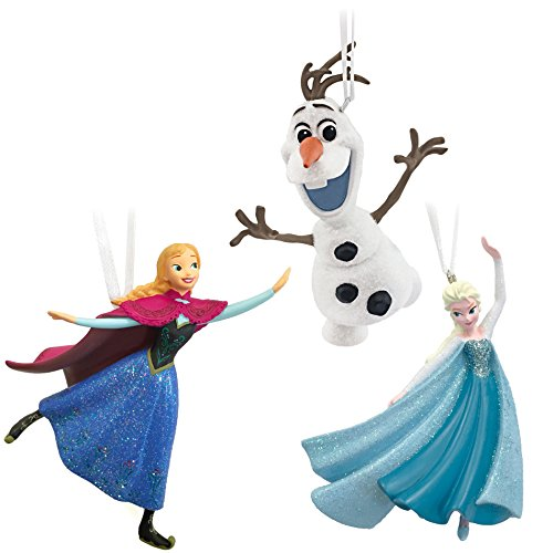 Frozen Elsa, Anna and Olaf